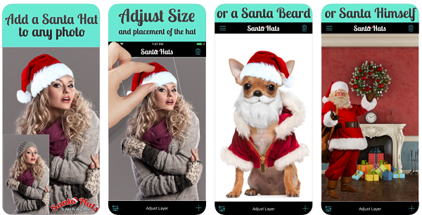 Add Santa Hat to Photos on iPhone and iPad