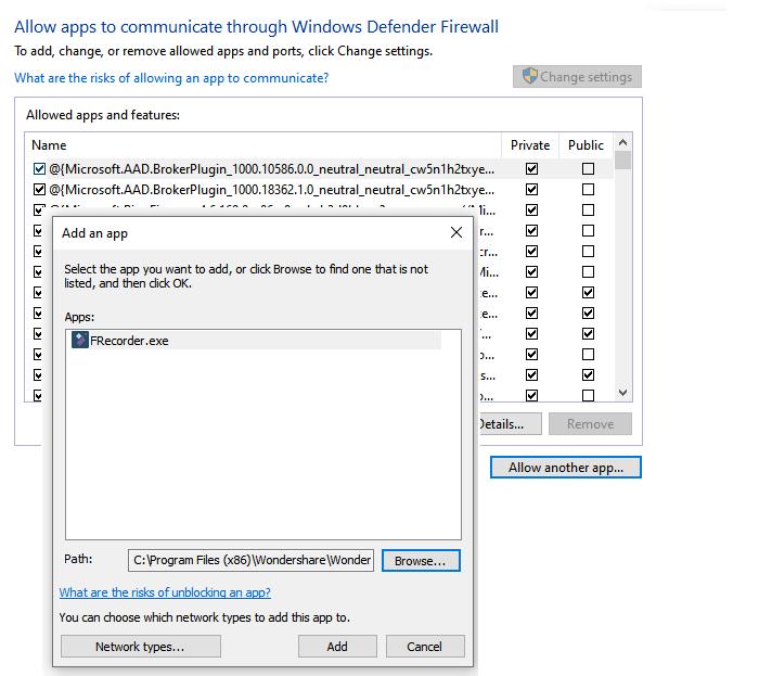 Configure Windows 10 Firewall