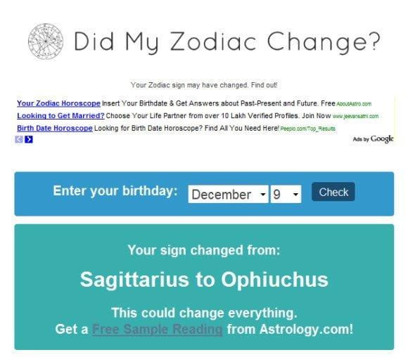 Check My Horoscope Sign