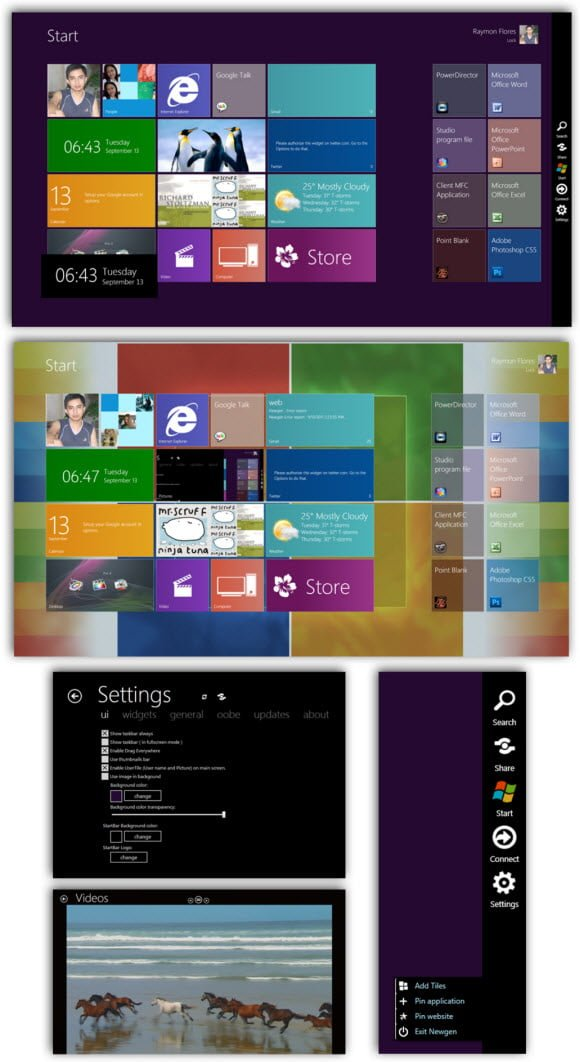 Newgen Windows 8 Theme for Windows 7