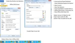 Office 2010 theme for windows 7