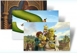 Shrek Forever After windows 7 themes free download
