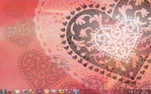 Windows 7 Valentines Theme